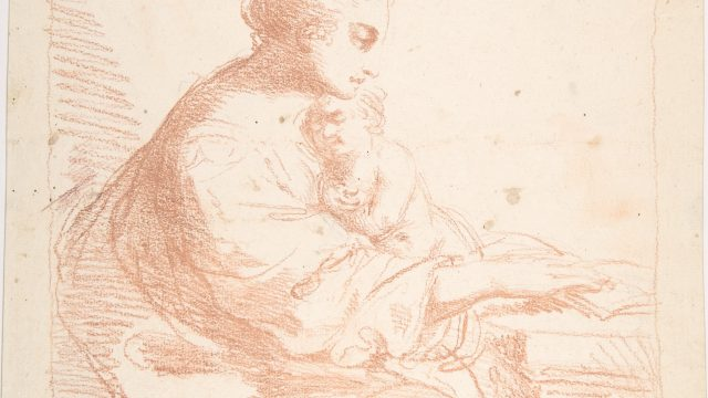 Mother and Child; Sketch