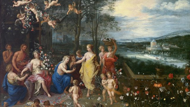 Jan Brueghel the Elder; Allegory of Spring