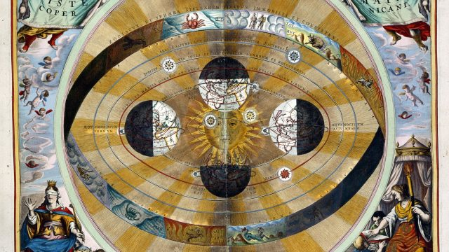 Atlas Coelestis - the Copernican System